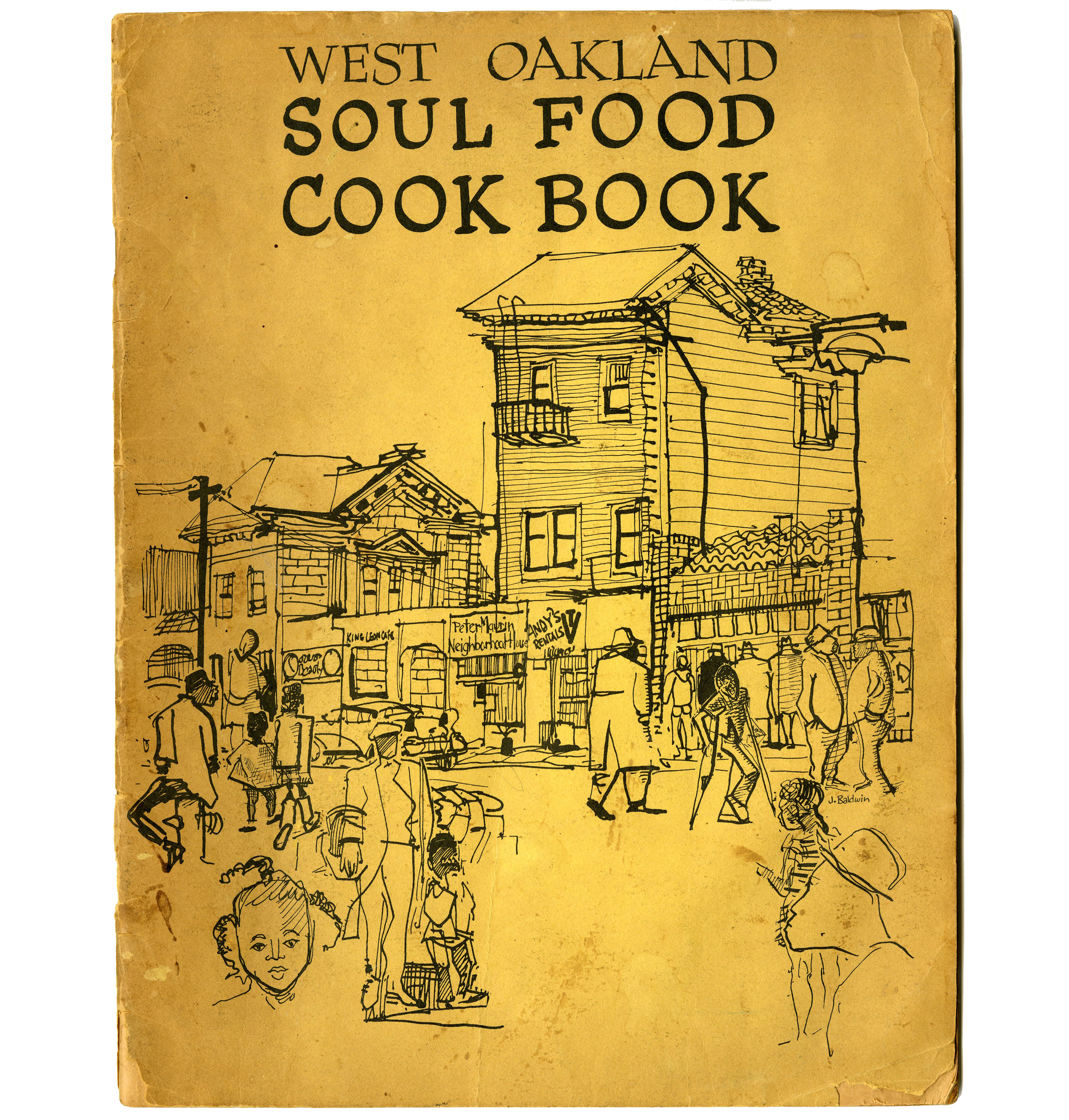 West oakland soul food cookbook special collections f w olin files forumfinder Choice Image